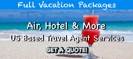 All inclusive vacation packages with a US base travell agent with the Back up of Apple Vacation and Funjet Vactions